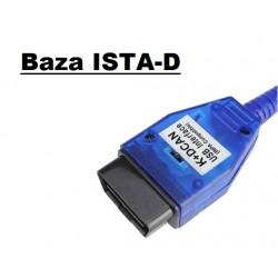 Interfejs BMW K+D CAN pin7-8 + DVD + baza ISTA D