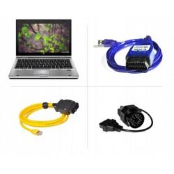 Zestaw Laptop 4w1 diagnostyka kodowanie BMW E F I