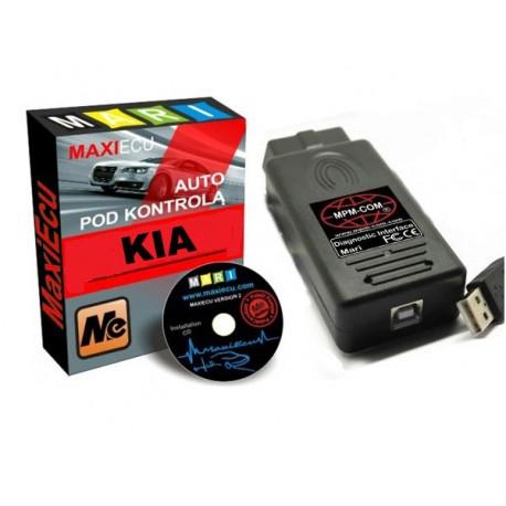 Zestaw MaxiEcu KIA + interfejs USB