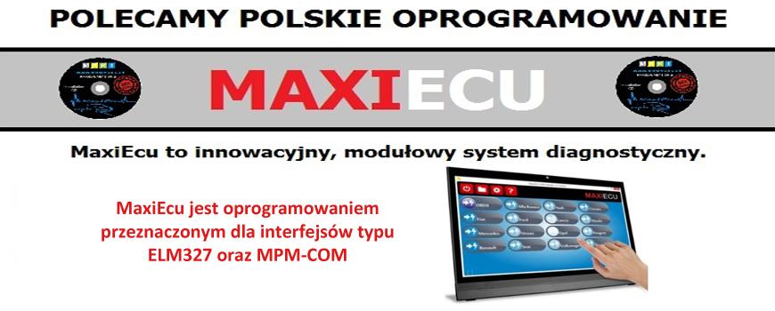 Oprogramowanie MaxiEcu